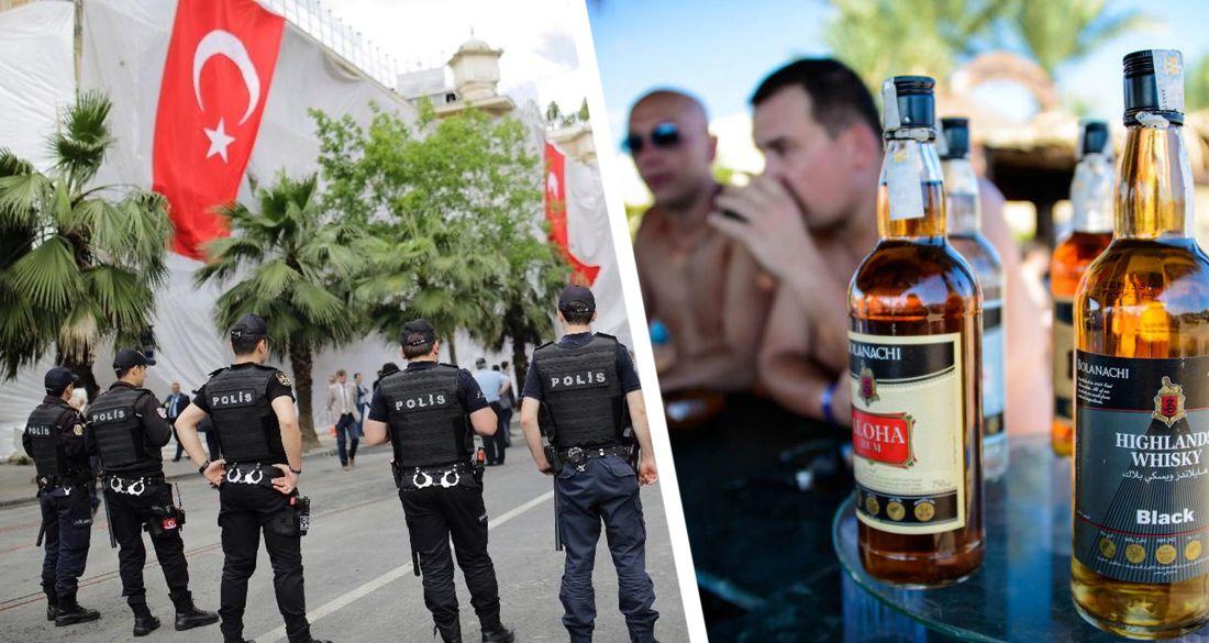 В люксовом отеле Анталии обнаружили мёртвого российского туриста. Опять поддельный алкоголь?