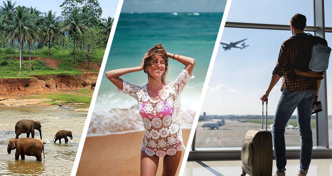 ϟ Дан старт чартерной программе для российских туристов на Шри-Ланку