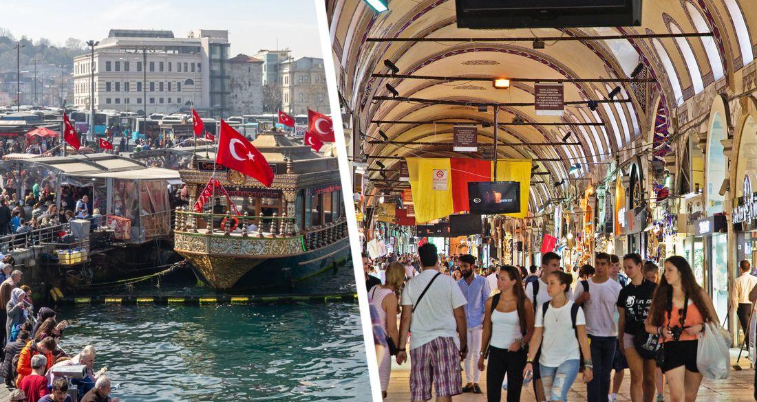 В Стамбуле российских туристов ждут барьеры и слежка беспилотников