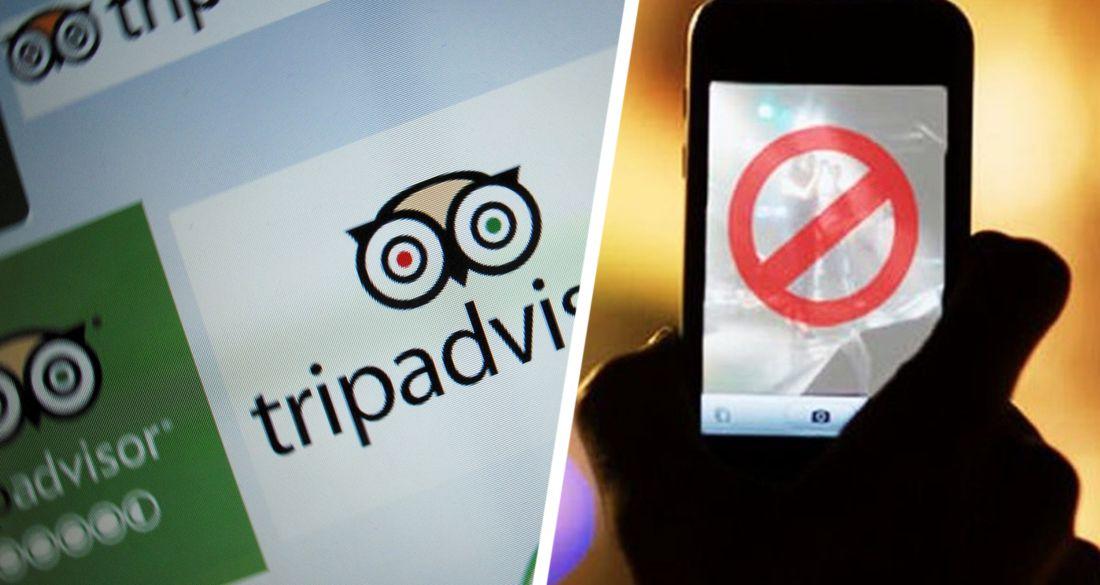 TripAdvisor приказали удалить из магазина приложений