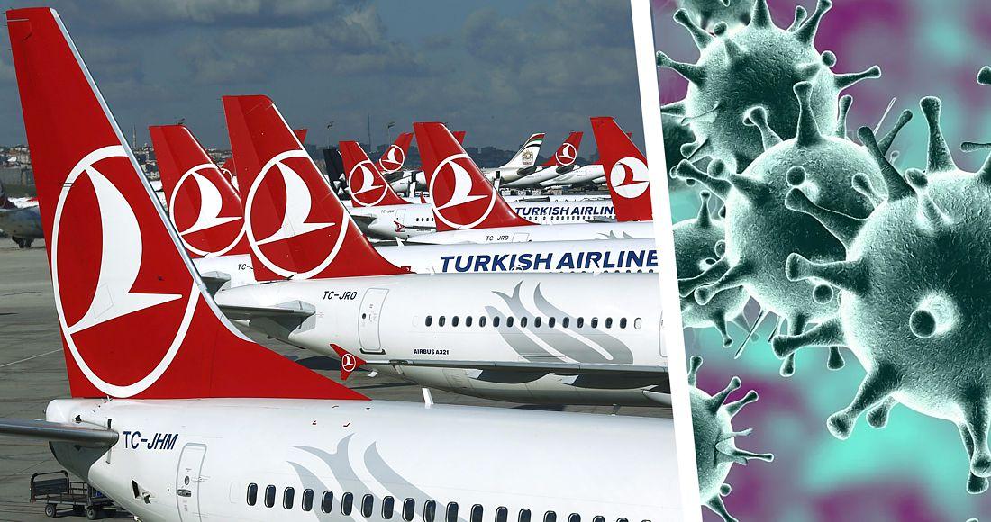 Турецкие авиалинии срочно паркуют самолёты