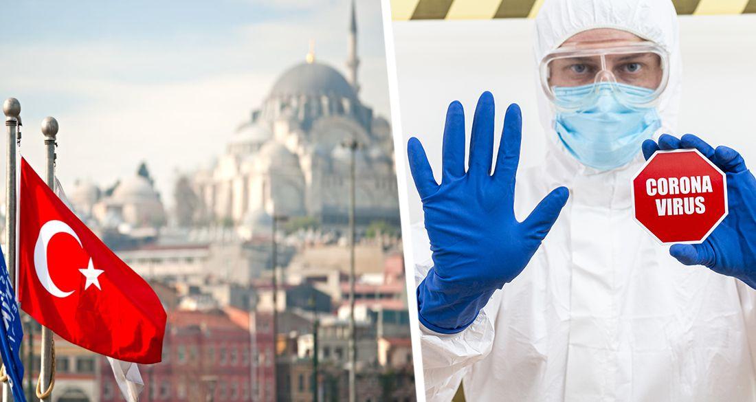 Турция идет к закрытию: страна вышла на 4-е место в мире по приросту заразившихся
