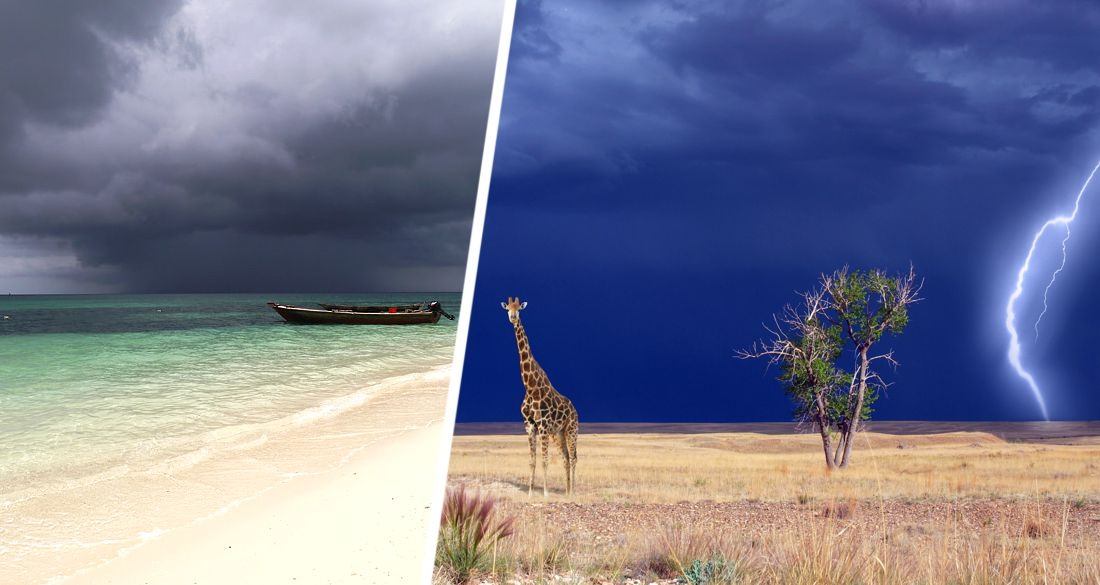 ☂ На Занзибар придут дожди