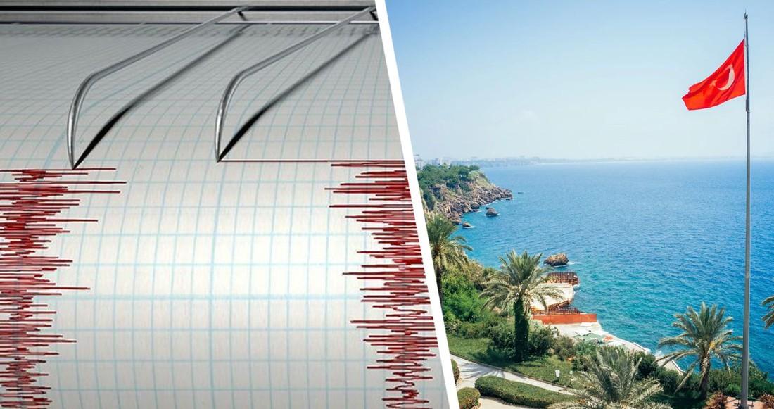 В Анталии произошло землетрясение: люди в панике, они стали повторяться каждую неделю