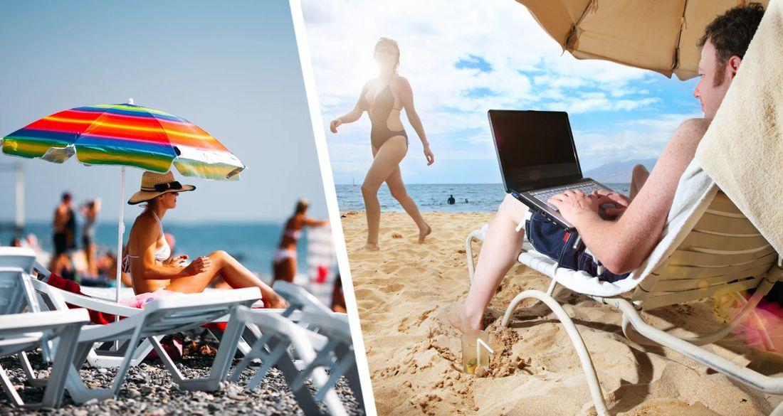 На пляжах Турции туристы будут заряжать смартфоны прямо от зонтиков