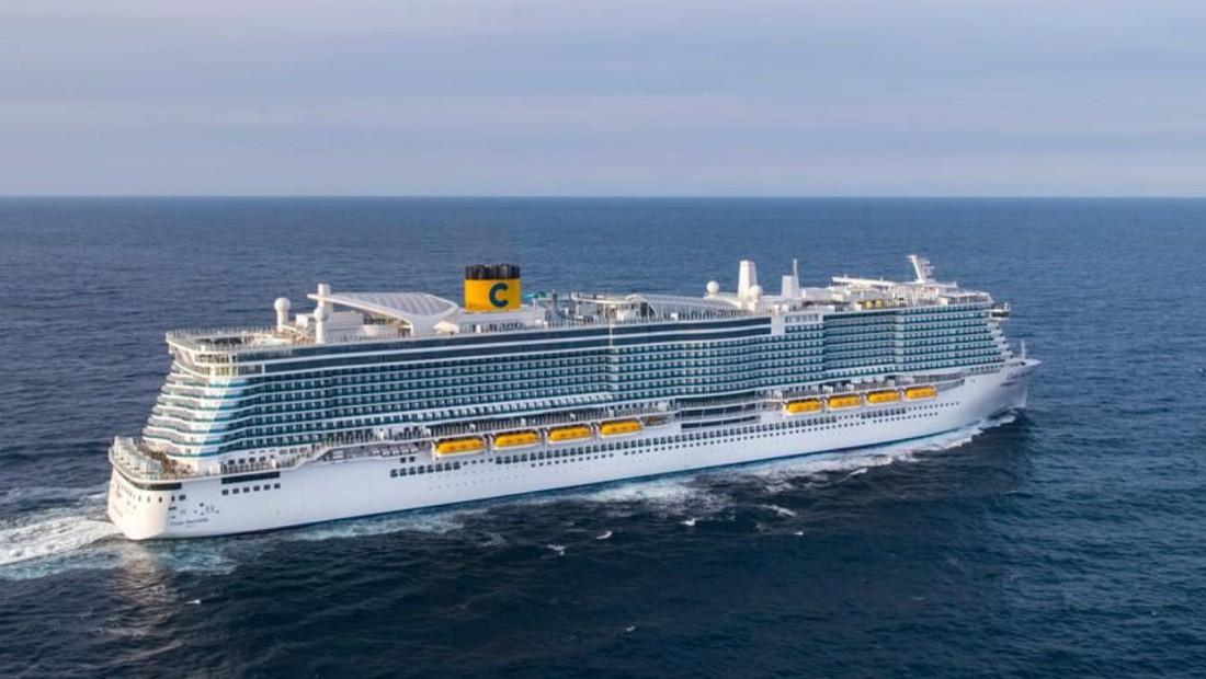 Costa Cruise спустила на воду новый лайнер: круиз начнется только в конце 2021 года