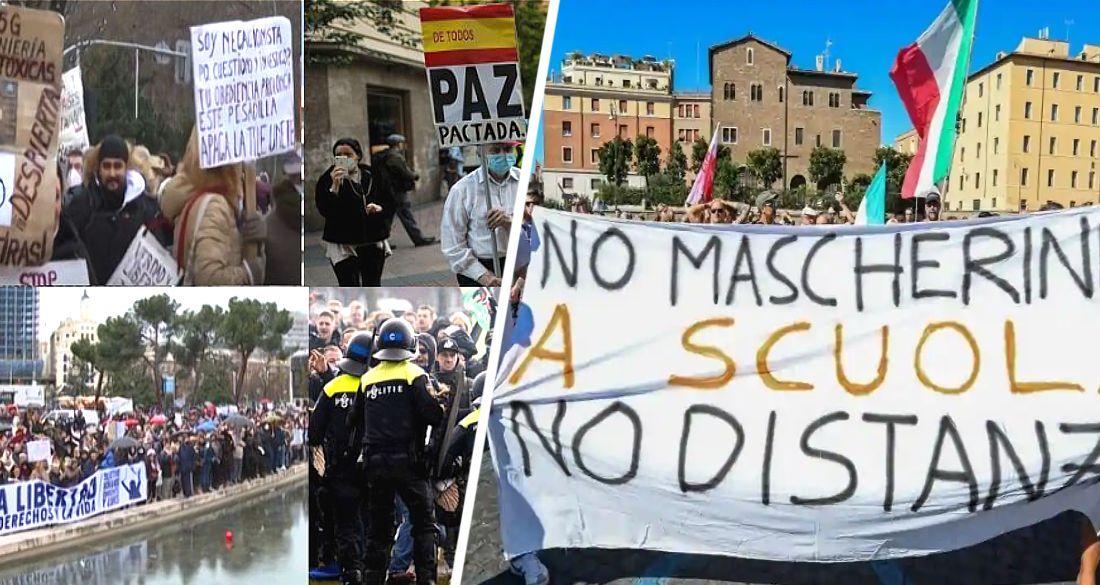Туризм вышел на акции протеста против действий властей в Италии, Испании и Нидерландах