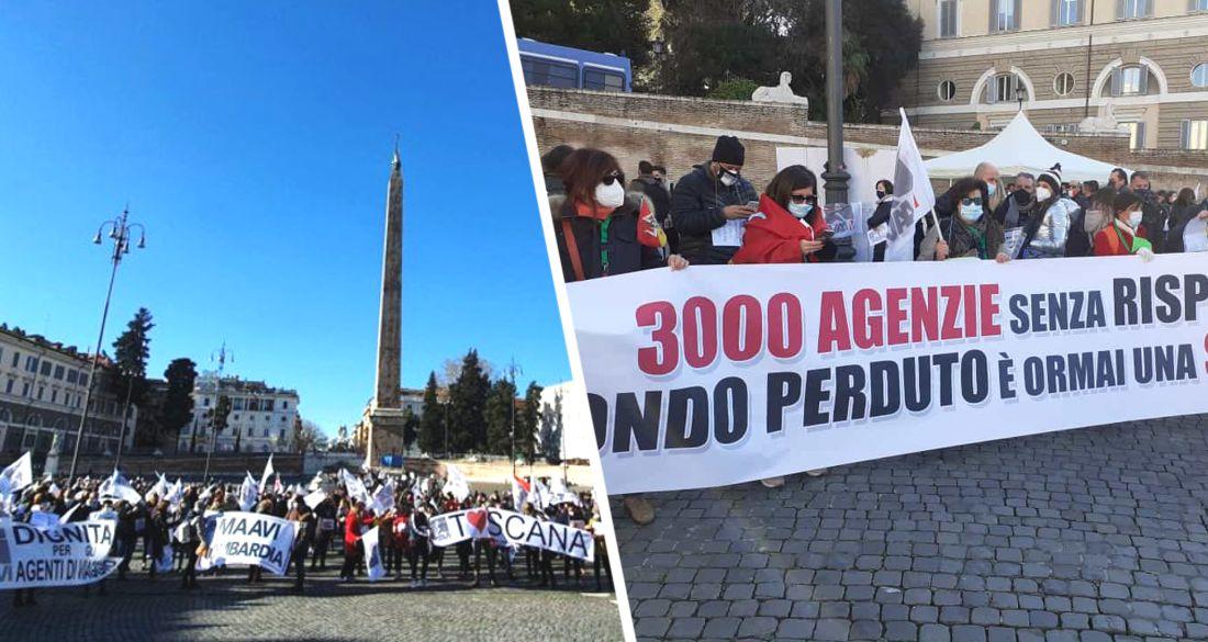 Туризм Италии вышел на улицы с протестами: «мы идём к краху»
