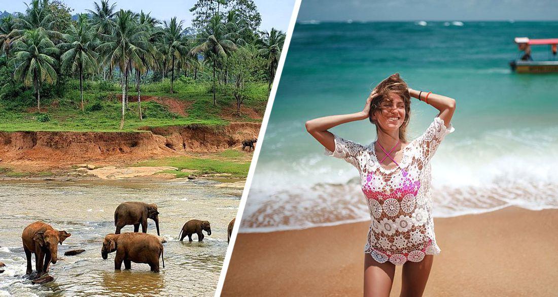 На Шри-Ланку потянулись туристы: первыми прилетели немцы, голландцы и швейцарцы. Скоро ждут русских...