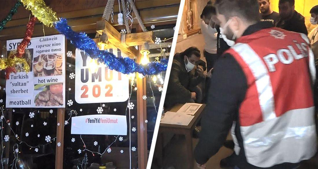 В Турции задержаны российские туристы за празднование Нового года: заведено уголовное дело