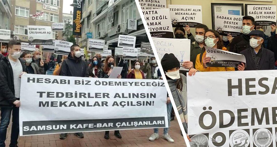 Туризм в Турции вышел на массовые протесты