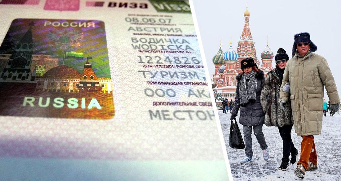 Иностранные туристы начали получать въездные визы в Россию в интернете