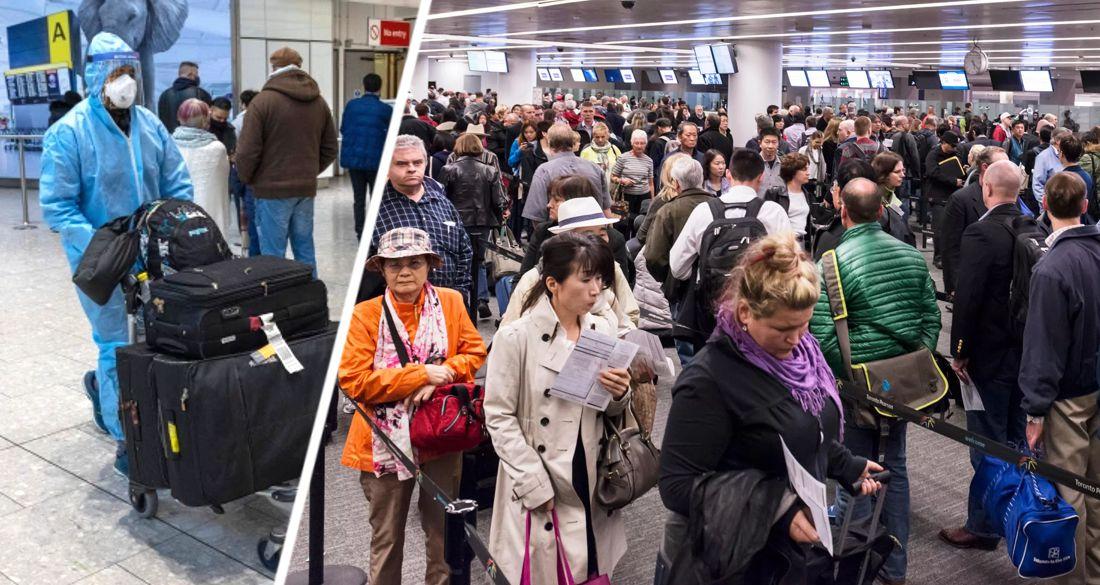 Хаос в аэропорту: чиновники предупредили туристов о 5-часовых очередях