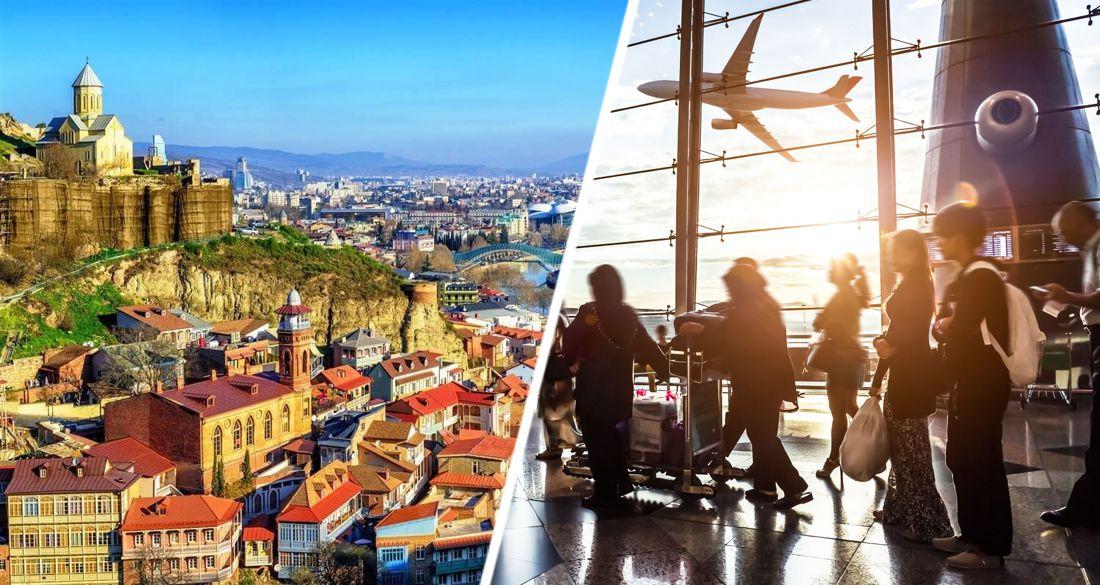 Начался ажиотаж на авиабилеты в Грузию: названы минимальные цены на рейсы Москва-Тбилиси