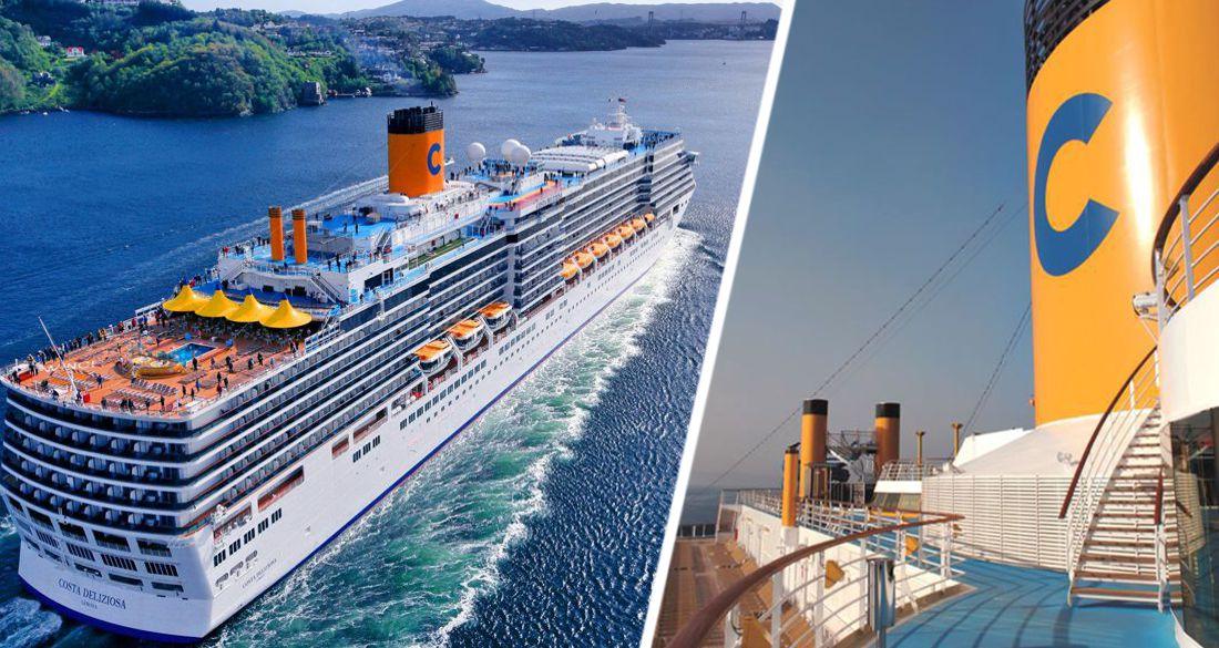 Costa возобновляет круизы с 27 марта по Средиземному морю