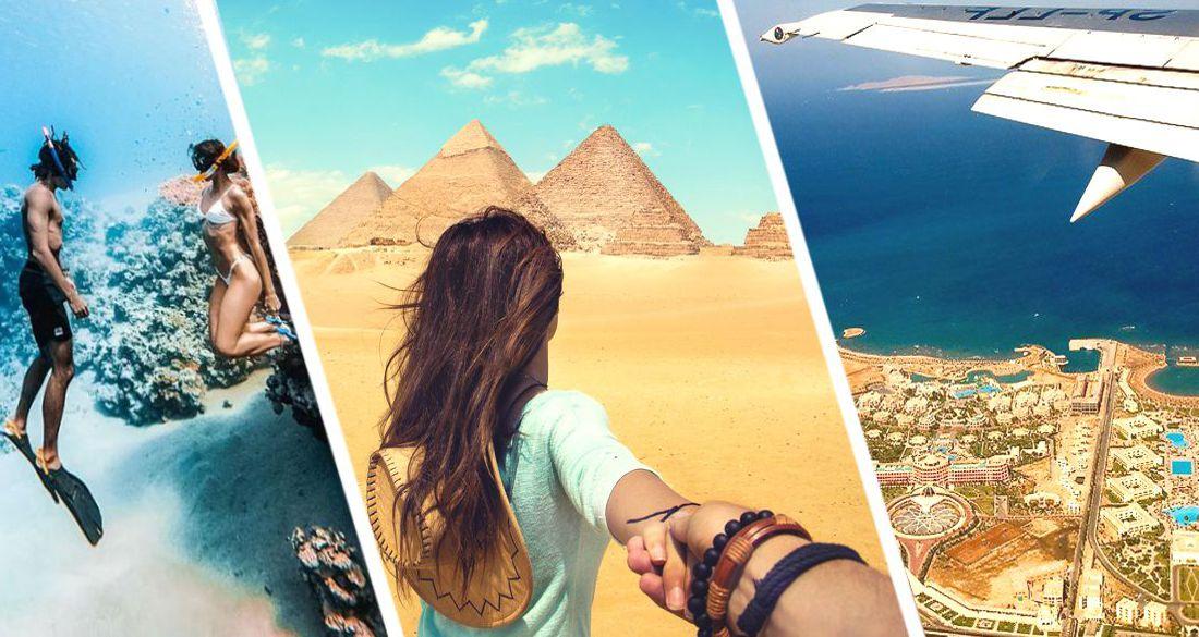 Египет объявил о начале прямых полетов в Хургаду и Шарм-эль-Шейх из России с 28 марта: названа авиакомпания и частота рейсов