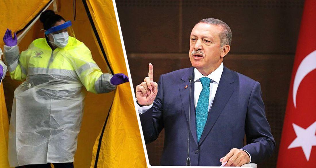 Эрдоган: «заразность возрастает, что делать с отелями решим в понедельник»