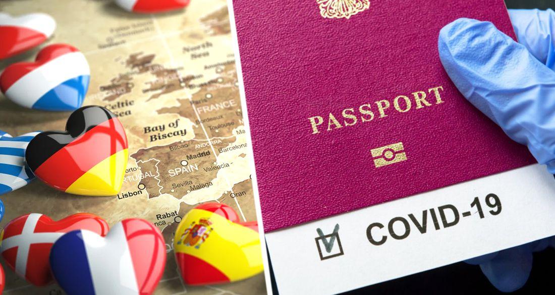 В Европе решили покончить с туризмом без паспорта вакцинации, теста и санитарной печати