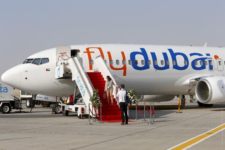 В Минск начинает летать авиакомпания flydubai