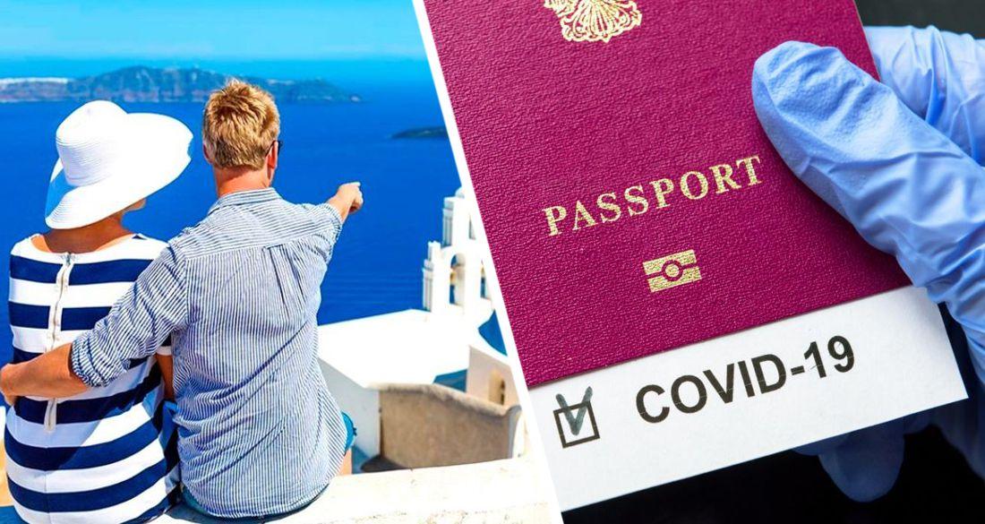 Греция вводит паспорта вакцинации и навязывает их туристам