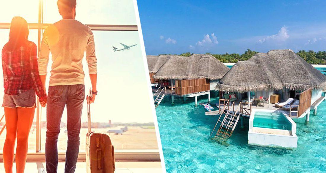Мальдивы подсчитали туристов в январе: россияне составили 22%