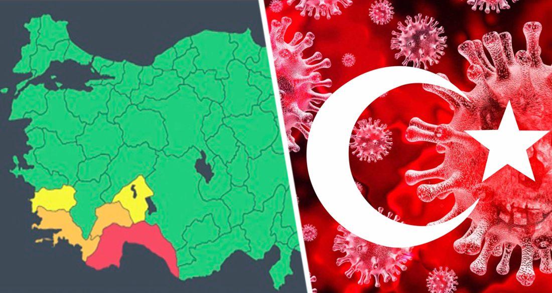 Туризм Турции встревожен: Анталию перевели в самую опасную зону