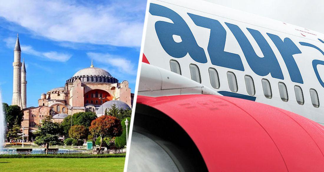 В Стамбул из Новосибирска начинаются прямые рейсы AZUR air
