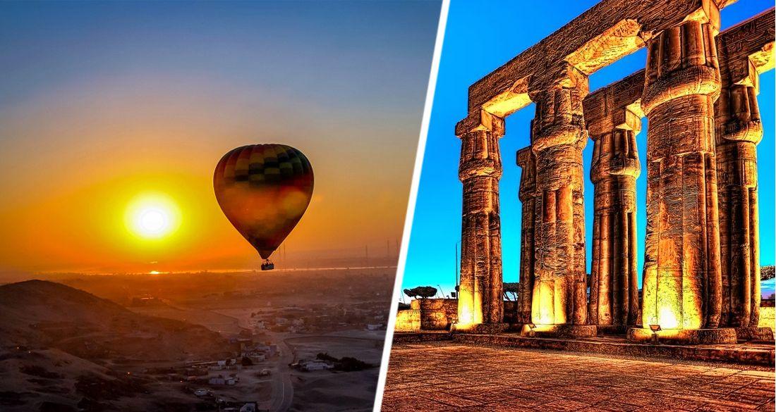 Египет начал привлекать туристов шарами