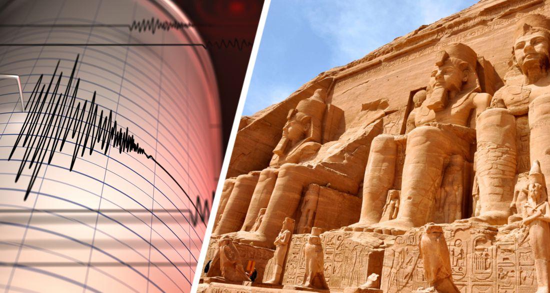 Знаменитые египетские достопримечательности вздрогнули от землетрясения