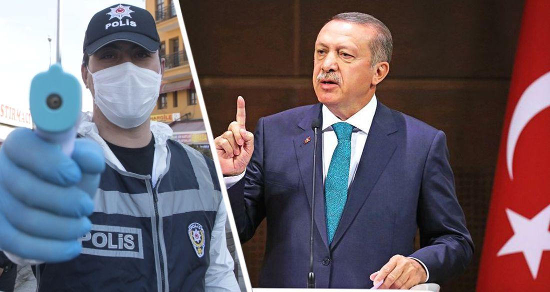 Эрдоган вводит в Турции комендантский час: в Анталии и Стамбуле ужесточаются меры