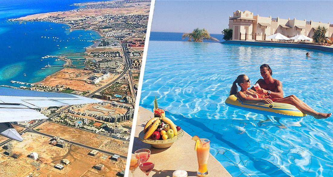В отелях Хургады и Шарм-эль-Шейха резко растёт число туристов
