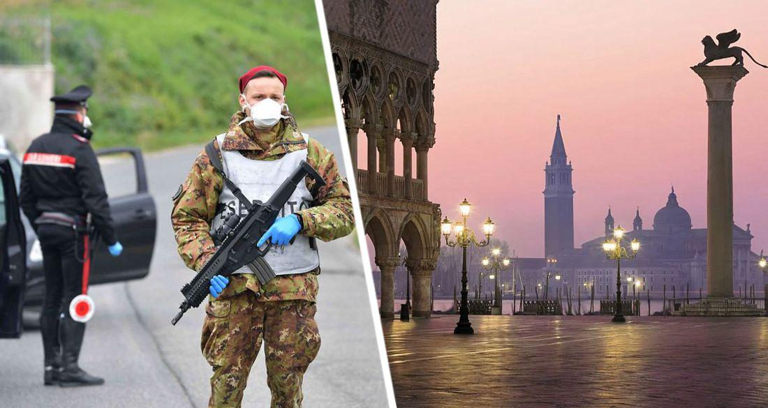 Италию накрыла третья волна: введена новая блокировка, поставившая крест на туризме