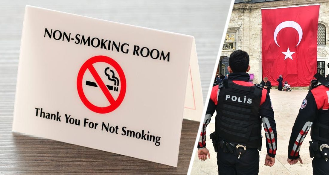Курение в отеле Анталии закончилось для туриста полицейским штурмом номера