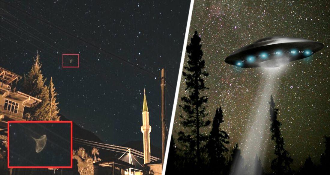 Над Анталией завис очередной НЛО: директор отеля послал снимок в NASA