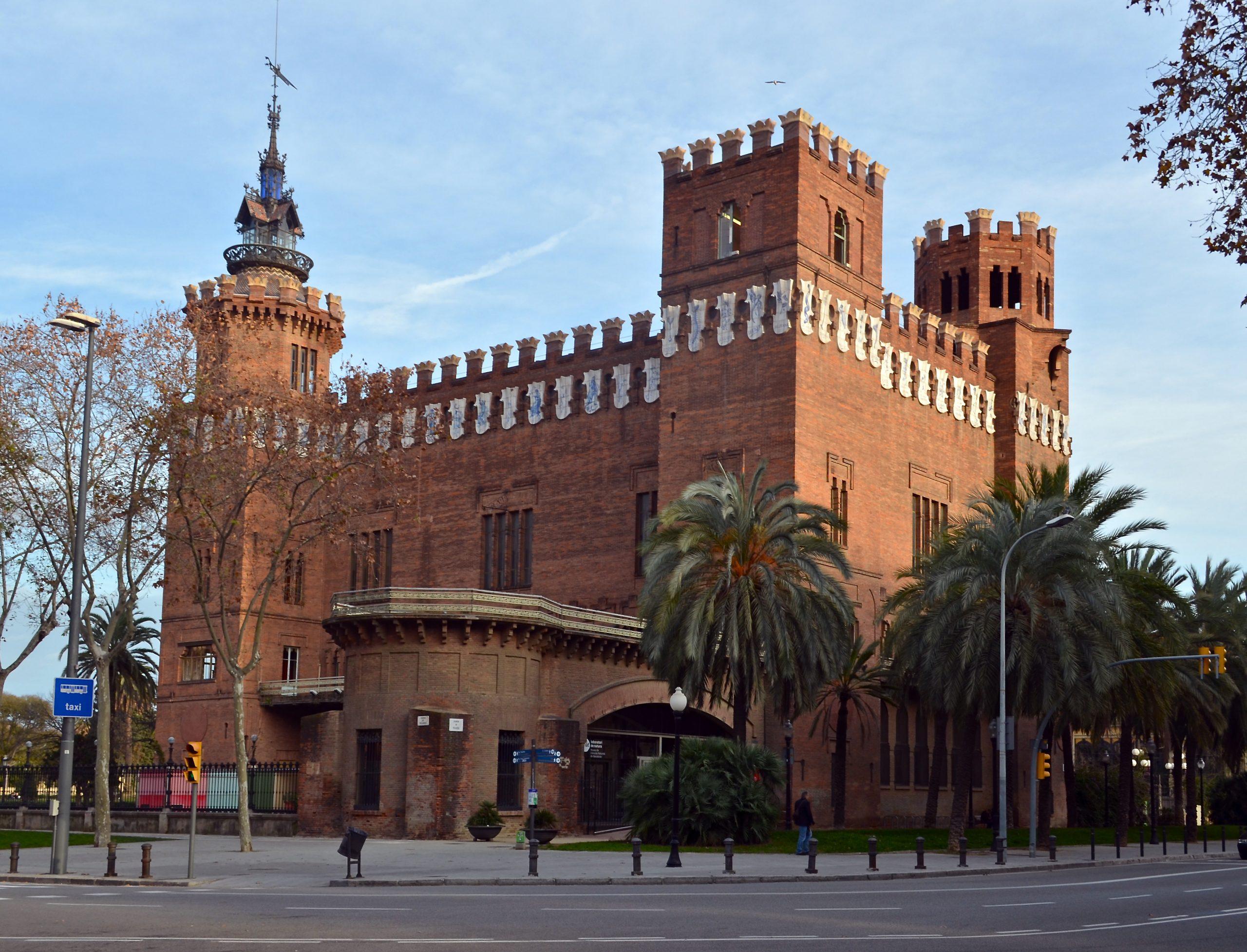 Трансформации Замка трех драконов в Барселоне