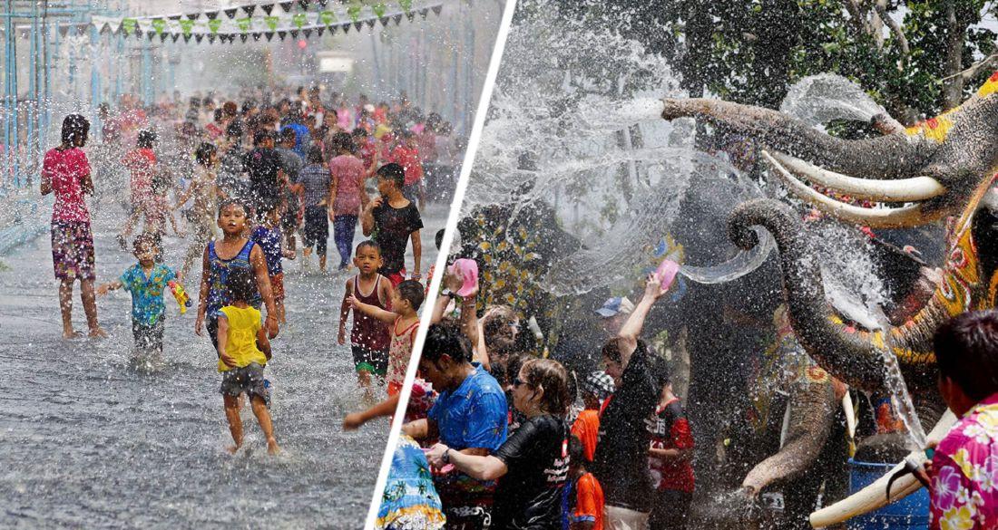 Обливаться водой можно только в ванной: Таиланд второй год подряд отменяет празднование Нового года