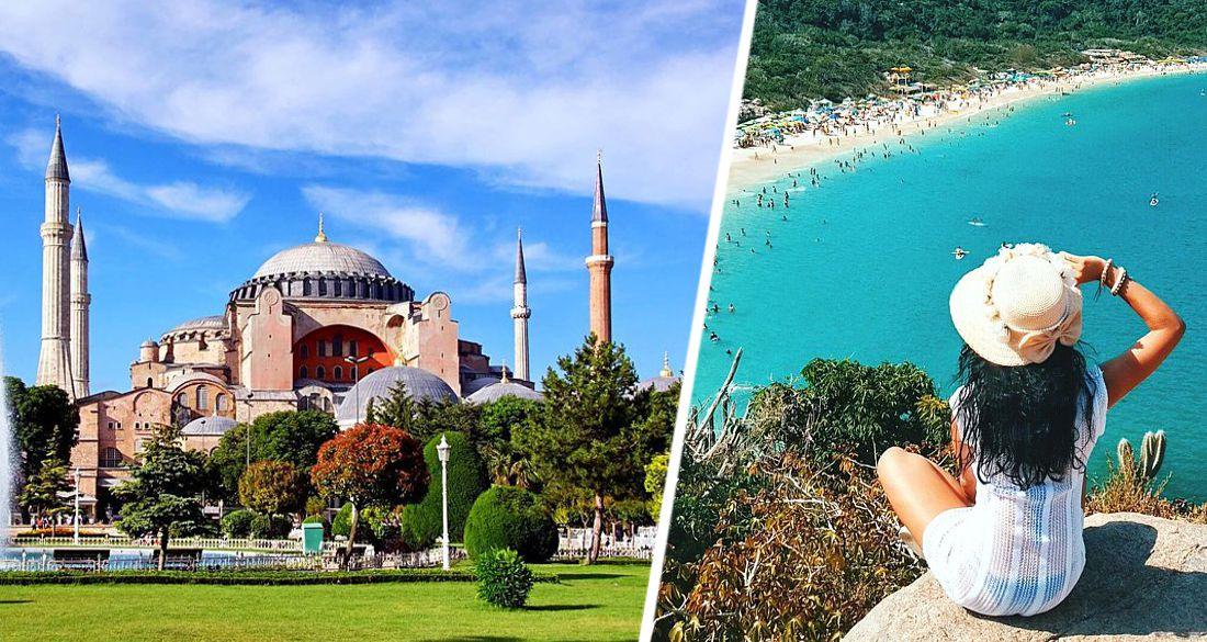 Российские туристы с иранцами, болгарами и иракцами стали основными донорами туризма Турции