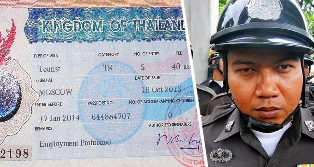 Российские туристы в Таиланде попались на продаже поддельных виз