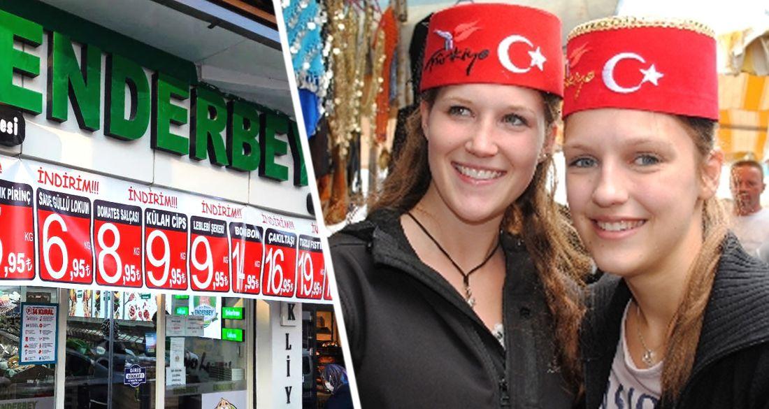 Российский турист был шокирован от цен в Турции