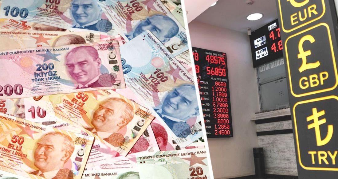 В Турции начинается валютный кризис: турецкая лира рухнула, играя на руку туристам