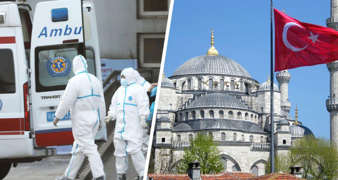 В Турции произошла вспышка COVID-19: страна скатилась к декабрю и оставила Анталию в оранжевой зоне
