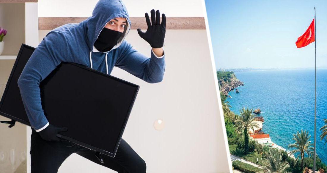 В Анталии обворованы отели: украдены 72 люстры и 30 телевизоров