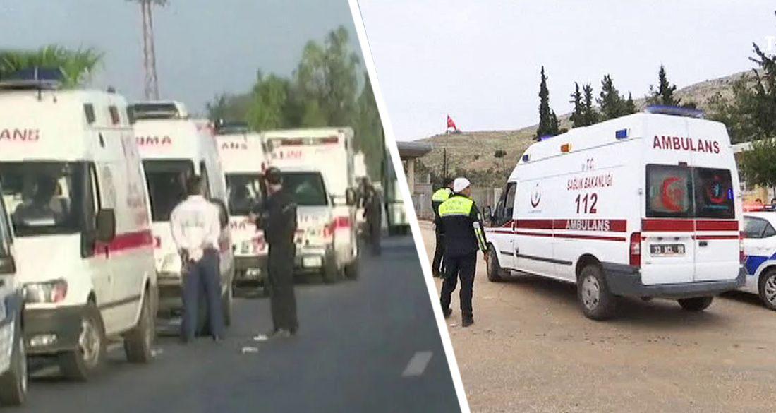 В Турции 32 туриста Пегаса попали в аварию: есть погибшие и раненые