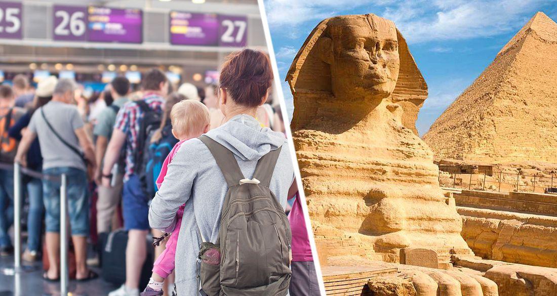 Все как будто зомби, мест нет, а они стоят: из Египта не могут вернуться российские туристы