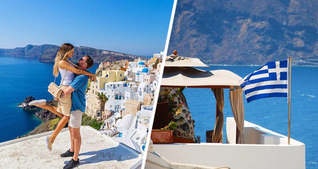 В Греции начался эксперимент с 189 иностранными туристами