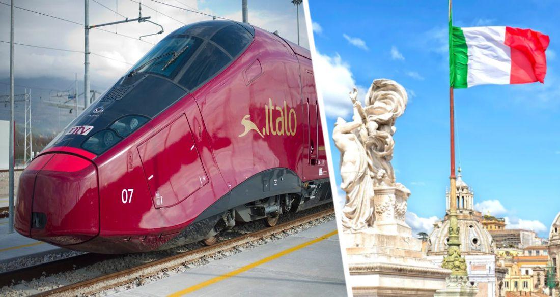 Запущен поезд Рим-Милан: что ждет пассажиров перед и во время поездки