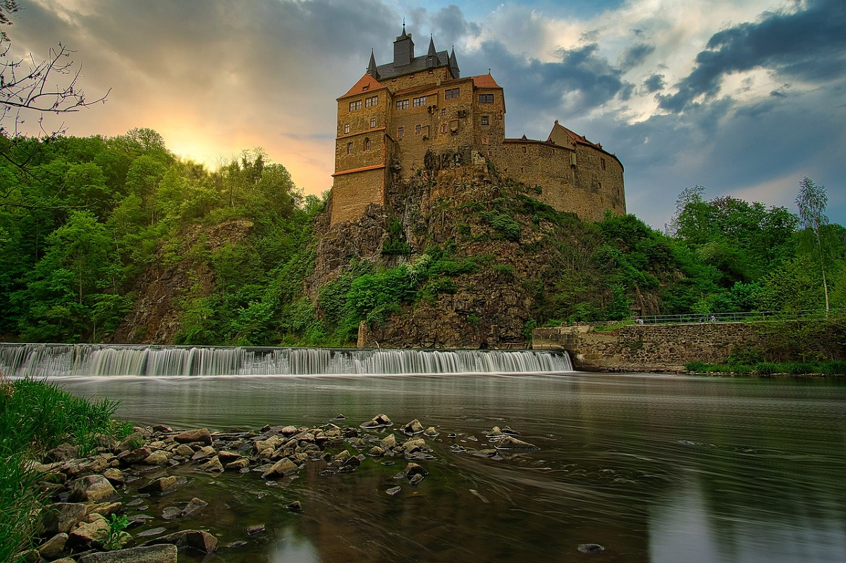 Замок Крибштайн. Фото: pixabay.com