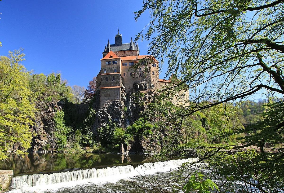 Замок Крибштайн. Фото: wikipedia.org