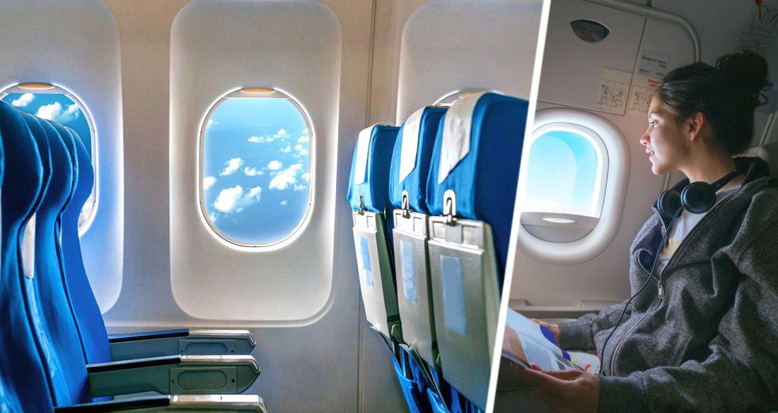 Стюардесса рассказала, почему никогда не стоит прислоняться к иллюминатору самолета