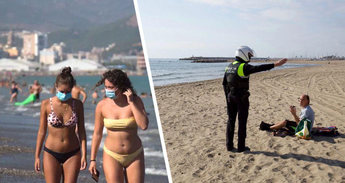 Пляжи превращают в полевые госпитали: туристам придётся носить маску даже на пляже и в бассейне